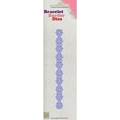 Nellie Snellen - Fustella - Bracelet Border Stars