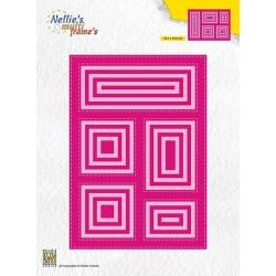 Nellie Snellen - Fustella - block die rectangle