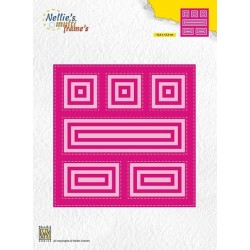 Nellie Snellen - Fustella - block die square