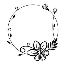 Nellie Snellen - Embossing Folder - Flower Frame