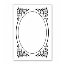 Nellie Snellen - Embossing Folder - Deco Frame