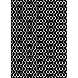 Nellie Snellen - Stencil - chickenwire