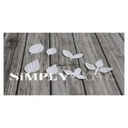 Simply Graphic - Fustella - Mini Feuilles