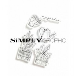Simply Graphic - Timbri Clear - My Garden