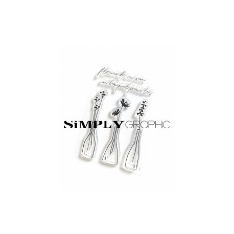 Simply Graphic - Timbri Clear - Soliflores