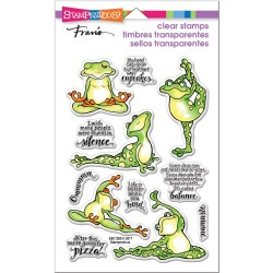 Stampendous  - Timbri clear - Frog Yoga