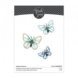 ModaScrap - Fustella - Butterfly Set