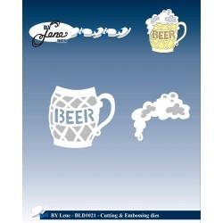 By Lene Dies - Fustella - Beer Mug