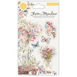Craft Consortium - Timbri Clear - Florals