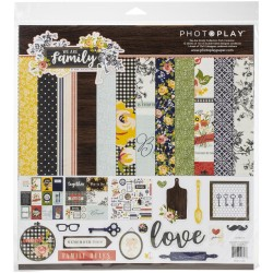 "PhotoPlay - Kit Carte  12x12"" - We are family"