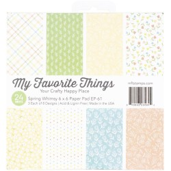 My Favorite Things - Pad 6x6 pad - Spring Whimsy