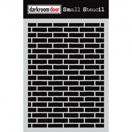 Darkroom Door - Stencil - Brick Wall