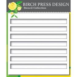 Birch Press Design - Stencil - Bold Stripes