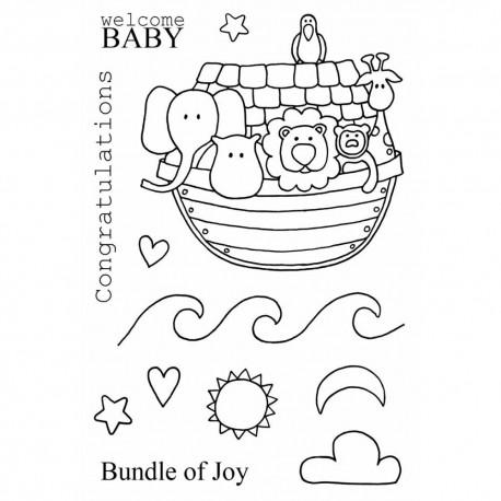 Jane's Doodles - Timbri Clear - Noah's Ark