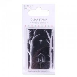 Simply Creative - Timbri Clear - Nativity Scene