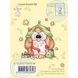 Leane Creatief - Timbri Clear - Owlie Elf