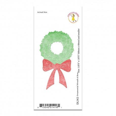 Cheery Lynn - Fustella - Ornamental Wreath & Bow