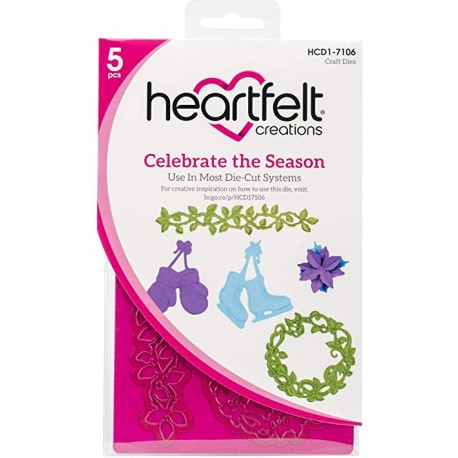 HeartFelt Creations - Fustella - Celebrate the Season
