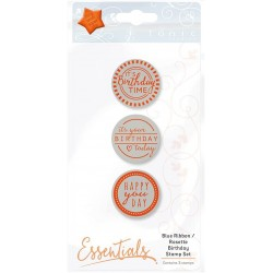 Tonic Studio - Timbri Cling - Birthday Stamp Set