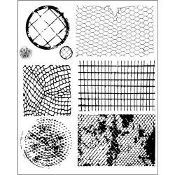 Finnabair - Timbri Cling - Net & Wire