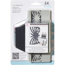 Ek Tools - Punch - 2in1 Striped Butterfly