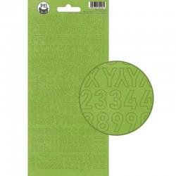 PIATEK13 - Alphabet sticker sheet - Christmas treats 01