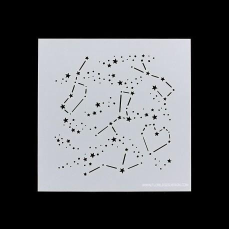 Florileges Design - Stencil - Constellations