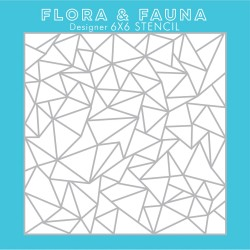 FloraFauna Clear - Stencil - Artic