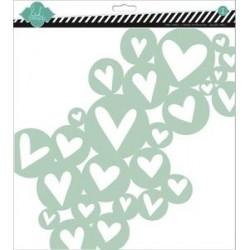 Heidi Swapp - Stencil - Mask Heart