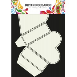 Dutch Doobadoo - Stencil - Box Heart