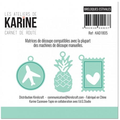 Les Ateliers de Karine - Fustelle - Breloques Estivales
