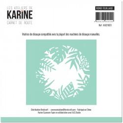 Les Ateliers de Karine - Fustelle - Rond Feuillage