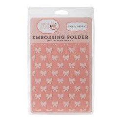 Carta Bella - Embossing Folder - Petite Bows