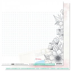 "Les Ateliers de Karine - Carta 12x12"" - Air Mail"