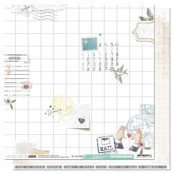 Les Ateliers de Karine - Carta 12x12 - Au programme
