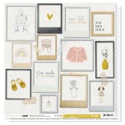 "Les Ateliers de Karine - Carta 12x12"" - Lea & Sacha"