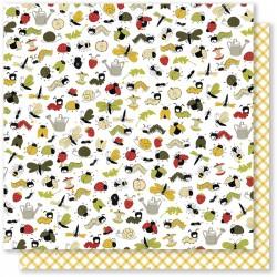 Mes Ptits Ciseaux - Carta 12x12 - O Jardin 1