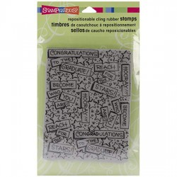 Stampendous  - Timbri cling - Graduation Background