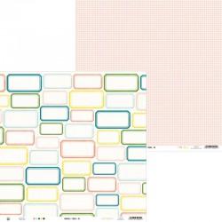 "PIATEK13 - Carta 12x12"" - Around the Table 02"