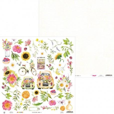 "PIATEK13 - Carte 12x12"" - The Four Seasons - Summer 07"