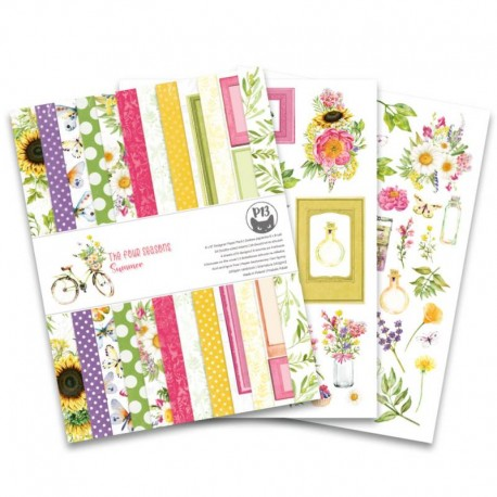 "PIATEK13 -  Paper Pad - The Four Seasons -  Summer 6x8"""