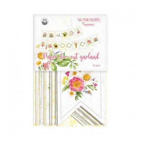 PIATEK13 - Paper die cut garland - The Four Seasons - Summer