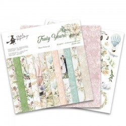 PIATEK13 -  Truly Yours  - PAPER PAD 12x12""