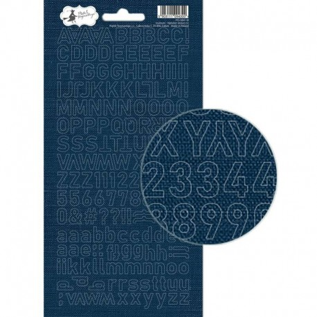 PIATEK13 - Alphabet sticker sheet -  Soulmate 02