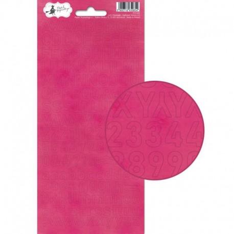 PIATEK13 - Alphabet sticker sheet - Let's Flamingle 02