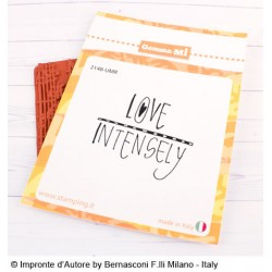 Impronte d'Autore - Timbri Non Montati - Love Intensely