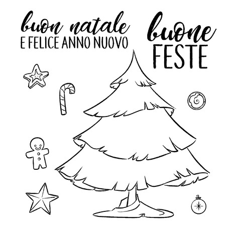 Impronte d'Autore - Timbri Non Montati - Buone Feste