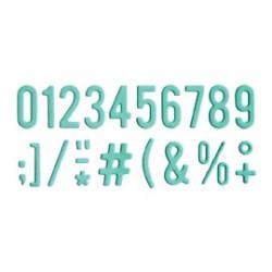 Impronte d'Autore - Fustella - Numeri 88233