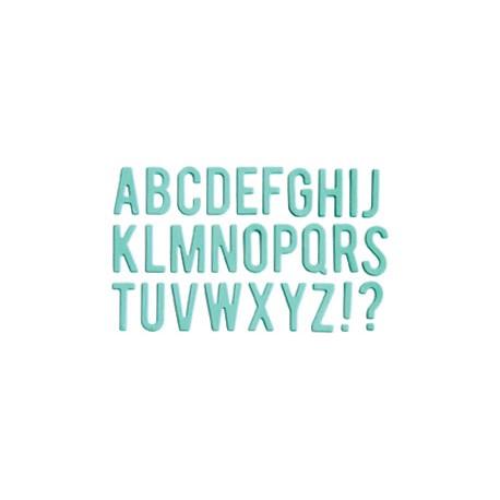 Impronte d'Autore - Fustella - Alfabeto 88232