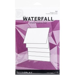 Photoplay - Kit per Struttura - Waterfall 4x6""